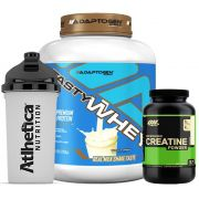 Tasty Whey 5 LB Vanilla +  Creatina 300g Op + Bottle