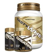 Tasty Whey Cookies 2 LBS + Bcaa 90 Caps + Creatina