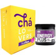 TeaFina 60 Sachês + Energy Plus 150g Grape Optimun