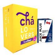 TeaFina 60 Sachês + Juice plus 120g Vitafor