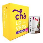 TeaFina 60 Sachês + Xilitol 330g Vitafor
