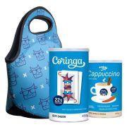 Whey Coringa 450g + Bolsa Térmica + Cappuccino Mais Mu