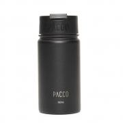 Copo Termico Preto Tumbler C/ Infusor 350ml - Pacco