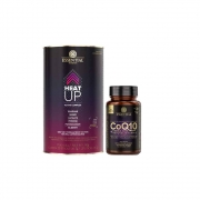 Coq10 Omega-3 + Natural Vitamin E 60 Caps Essential e Heat Up 140g ( 20 Unidades de 7 G ) Essential