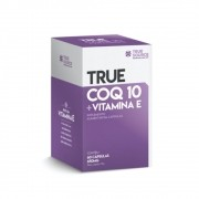 Coq 10 + Vitamina E 60 Cáps - True Source