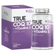 Coq 10 + Vitamina e 60 Cáps - Coenzima Q10 True Source