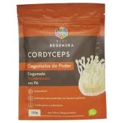 Cordyceps Cogumelo Desidratado em Pó 100g  Viva Regenera