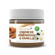 Creme de Amêndoas e Vanilla 300g - Puravida