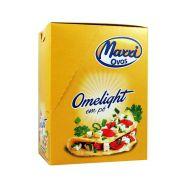 Cx 10 Un Omelight Clara e Gema  Cebola e Salsa - Maxxi Ovos