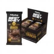 Cx 12 Un Best Whey Chocolate Proteico Crunchy - Atlhetica Nutrition