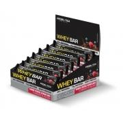 Cx 12 Un Whey Bar Low Carb 40g Probiótica Frutas Vermelhas