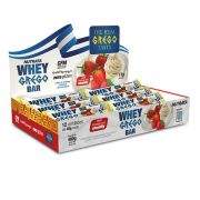 Cx 12 Un Whey Grego Bar Morango C/ Chantilly  Nutrata