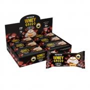 Cx 12un Whey Grego Bar 480g Coffee Cream Cappuccino - Nutrata