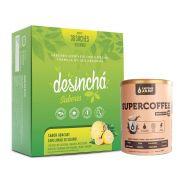 Desinchá Sabores 30 Sachês Abacaxi/Limão + Supercoffee