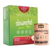 Desinchá Sabores 30 Sachês Maçã C/ Canela  + Supercoffee