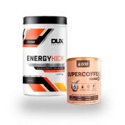 EnergyKick Abacaxi 1kg + Supercoffee 220g