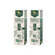Extrato de Própolis Verde Orgânico 30 mL - BR 2Un