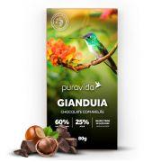 Gianduia Chocolate Com Avelãs 80g - Pura Vida