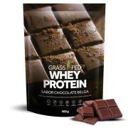 Grass Fed Whey Protein Chocolate Belga 900g Puravida
