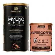 Immuno Whey Pro Glutathione 465g + Supercoffee 2.0 220g