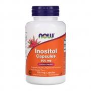 Inositol Capsules 500mg 100 Veg Capsula - Now