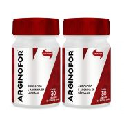 Kit 2 Un L-Arginina Vitafor 30 CAPS