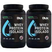 Whey Protein Isolado All Natural 2 Un  900g Chocolate