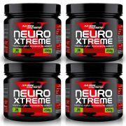 Kit 4 Un Neuro Xtreme 250G Laranja C Acerola Nutri American