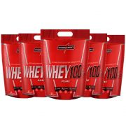 Super Whey 100% Chocolate 5 un 900g Integral Medica