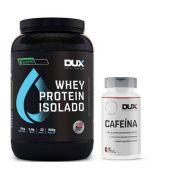 Whey Isolado All Natural Baunilha 900g - Dux + Cafeina