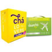 Desincha Viagem + Teafina 60 Sachês Chá Lovers