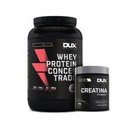 Whey Protein Concentrado Chocolate + Creatina Dux