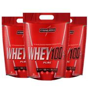 Super Whey 100% Pure 1un Baunilha 1un Chocolate 1un Morango