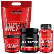 Whey Baunilha+ BCAA + Glutamina + Creatina