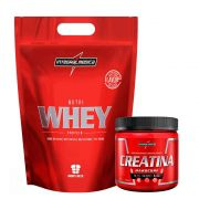 Kit Nutri Whey Baunilha 900G + Creatina 150G