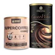 Kit Supercoffee 250g - Caffeinearmy + Cacao Whey 450g