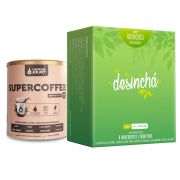 Kit Supercoffee 250g - Caffeinearmy + Desinchá