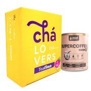 Kit Supercoffee 250g - Caffeinearmy + TeaFina 60 Sachê