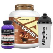 Tasty Whey Chocolate Peanut B + Creatina Utimate + Bottle
