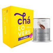Teafina 60 Sachês + Evolution Coffee 220g