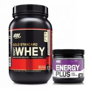 Whey Gold Standard 900g Baunilha + Energy Plus