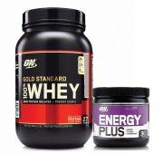 Whey Gold Standard 900g Brigadeiro Gourmet + Energy Plus