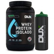 Whey Isolado All Natural Chocolate 900g + Squeeze Preto