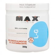 L-Glutamina  Max Titanium 300 G