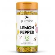 Lemon Pepper Tempero 130g  Puravida