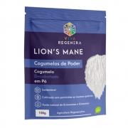 Lion's Mane Cogumelo Desidratado em Pó 100g - Viva Regenera