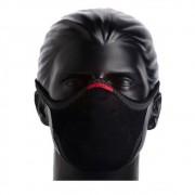 Máscara De Proteção Esporte Fitness Fiber Knit Preto