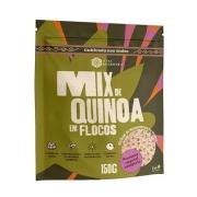 Mix de Quinoa em Flocos 150g Proteina Vegetal  Viva Regenera