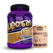 Nectar 907g caramel Macchiato Syntrax + Supercoffee 2.0 220g
