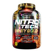 Nitro Tech 100% Whey Gold 5,5LB Muscletech Cheesecake de Frutas